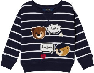 Ralph Lauren Bear Print Jumper
