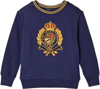 Ralph Lauren Crest Logo Embroidered Sweatshirt