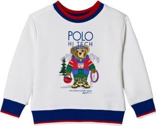 Ralph Lauren Teddy Print Crew Neck Sweatshirt