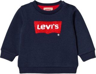 Levi's Kids Navy Bat Wing Logo
