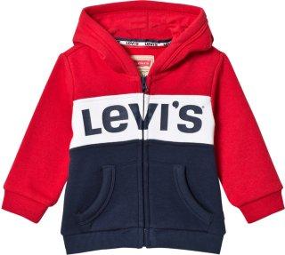 Levi's Kids Logo Color Block Zip Hoodie