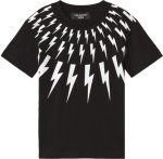 Neil Barrett Lighting Bolts Tee