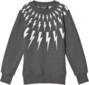 Neil Barrett Lighting Bolts Sweatshirt