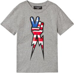 Neil Barrett Peace Hand Tee
