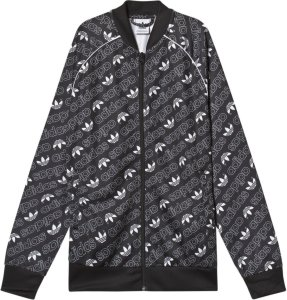 Adidas All Over Trefoil Logo Bomber