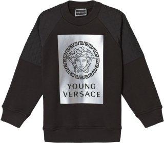 Young Versace Reflective Medusa Sweatshirt
