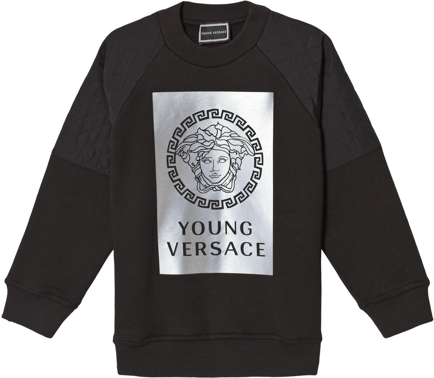 8ede4e00 Best pris på Young Versace Reflective Medusa Sweatshirt - Se priser før  kjøp i Prisguiden