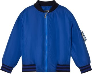 Young Versace Branded Back Bomber