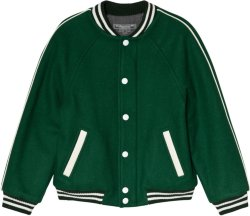 Bonpoint Wool Varsity Jacket