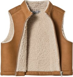 Bonpoint Sheepskin Gilet