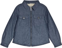 Bonpoint Denim Teddy Jacket