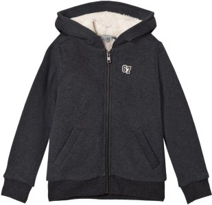 Bonpoint Teddy Lined Hoodie