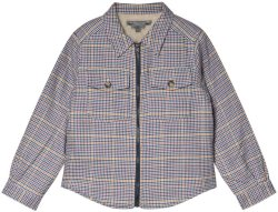 Bonpoint Multi Check Teddy Jacket