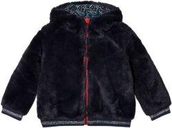 Cyrillus Faux Fur Hooded Coat