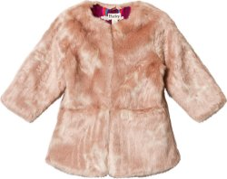 Hatley Stars Faux Fur Jacket