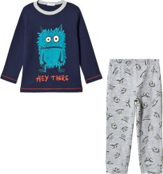 United Colors of Benetton Monster Print Pysjamas