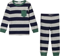 United Colors of Benetton Grey and Navy Pysjamas