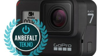 GoPro Hero 7 Black actionkamera med utstyrspakke