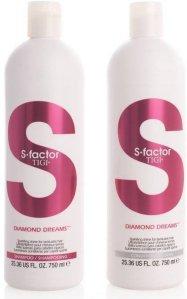 TIGI S-Factor Diamond Dreams Shampoo & Conditioner 2x750ml