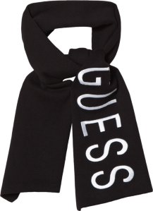 Guess Black Branded Scarf