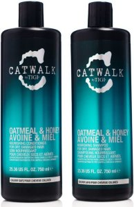 TIGI Catwalk Oatmeal & Honey Shampoo & Conditioner 2x750ml