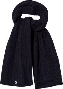 Ralph Lauren Cable Knit Scarf