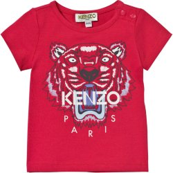 Kenzo Baby Tiger Print Tee