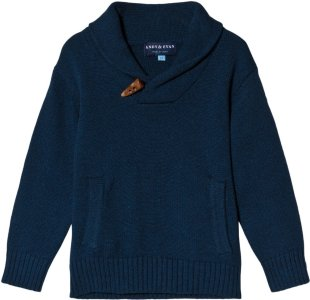 Andy & Evan Toggle Knit Sweater