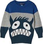 Andy & Evan Monster Intarsia Sweater
