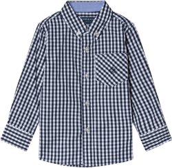 Andy & Evan Gingham Check Shirt