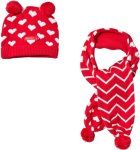 Agatha Ruiz de la Prada Hat and Scarf Set