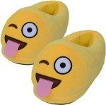Emoji tøfler til barn