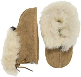 Melton Lambfur Shoe