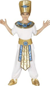 Fiestas Guirca Kostyme Farao