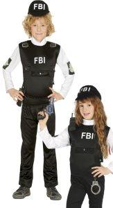 Fiestas Guirca Kostyme FBI-agent