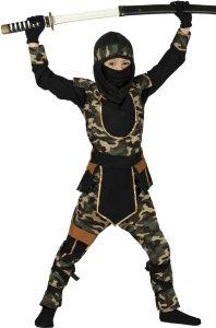 Fiestas Guirca Kostyme Ninja