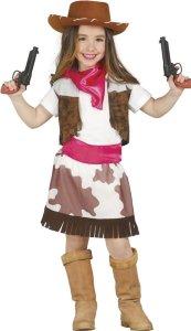 Fiestas Guirca Kostyme Cowgirl