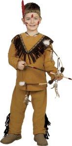 Fiestas Guirca Kostyme Indianer