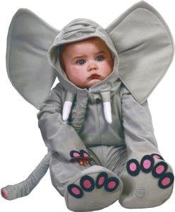 Fiestas Guirca Kostyme Elefant