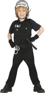 Fiestas Guirca Kostyme SWAT