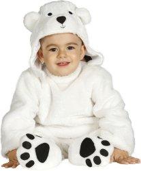 Fiestas Guirca Kostyme Isbjørn
