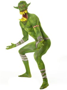 Orc Jaw Dropper Morphsuit