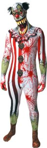 Clown Jaw Dropper Morphsuit