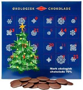 Økoladen Mørk Økologisk Chokolade 70% 240g