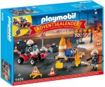 Playmobil 9486 Brannredning på Byggeplassen adventskalender