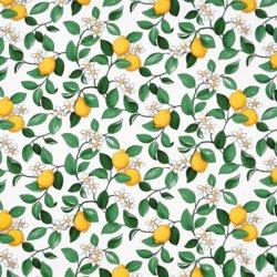 Arvidssons Textil Citronlycka voksduk
