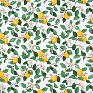 Citronlycka voksduk