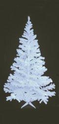 Europalms juletre 210cm UV-hvit