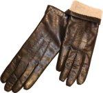 Fingerman Ciano m/ullstrikk (Dame)