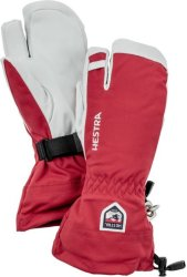 Hestra Army Leather Heli Ski 3-Finger